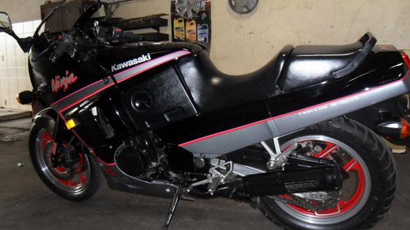 Motorcycle Kawasaki GPX600R