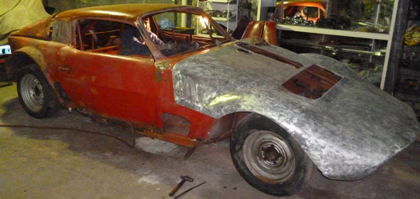 Car Ford Sport Prototipo 1960