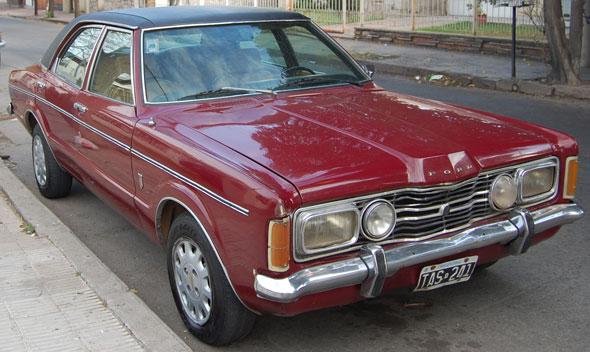 Auto Ford Taunus GLX