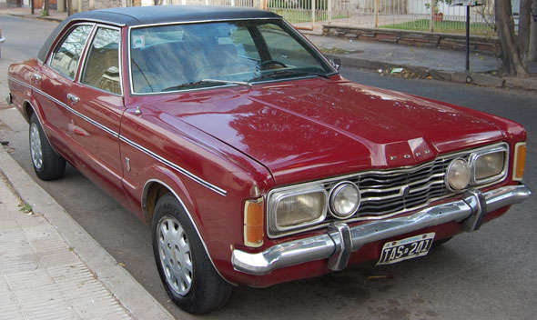 Car Ford Taunus GLX