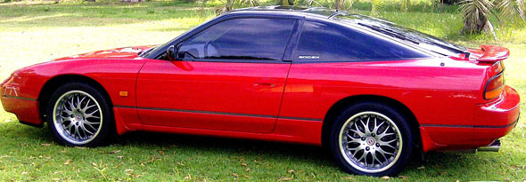 Car Nissan 200 SX 1993