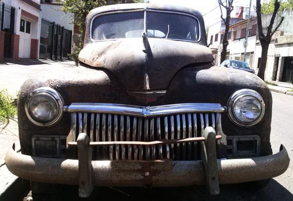 Auto Chysler Desoto 1946