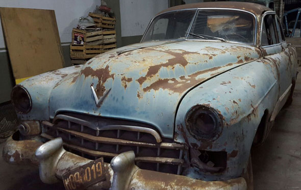 Car Cadillac 1948