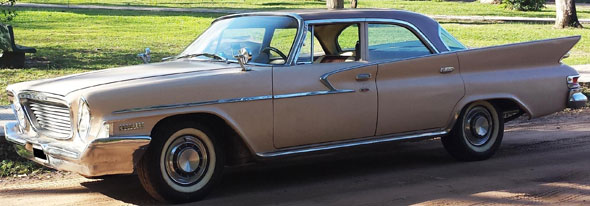 Car Chrysler Newport 1961