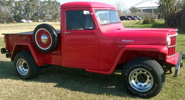 Car Willys Overland Truck