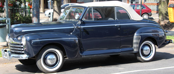 Auto Ford Coupé Convertible 1946