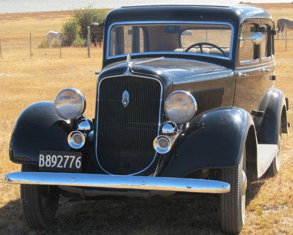 Car Plymouth Sedán 4 Puertas 1934