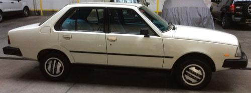 Auto Renault 18 GTX 1983