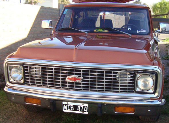 Car Chevrolet C10 1972