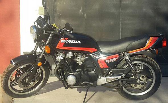 Motorcycle Honda CB900