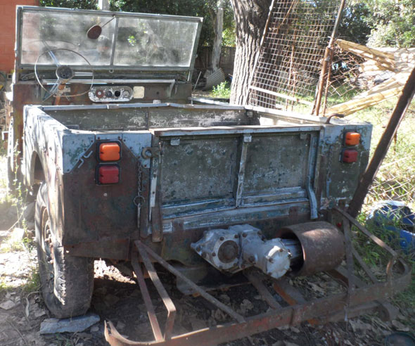Car Land Rover 1951 Ingl�s