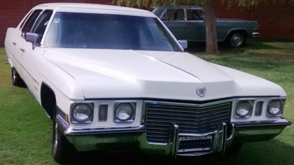 Car Cadillac Fleetwood Limousine