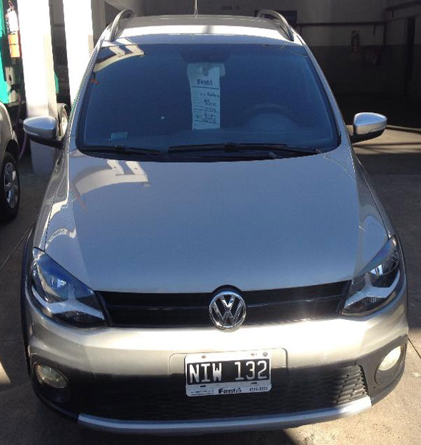 Car Volkswagen Crossfox