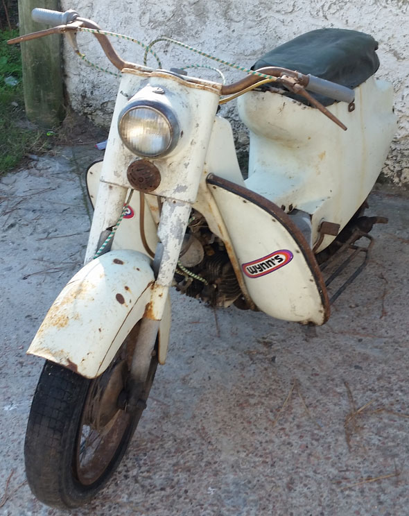 Motorcycle Rumi Scoiattolo