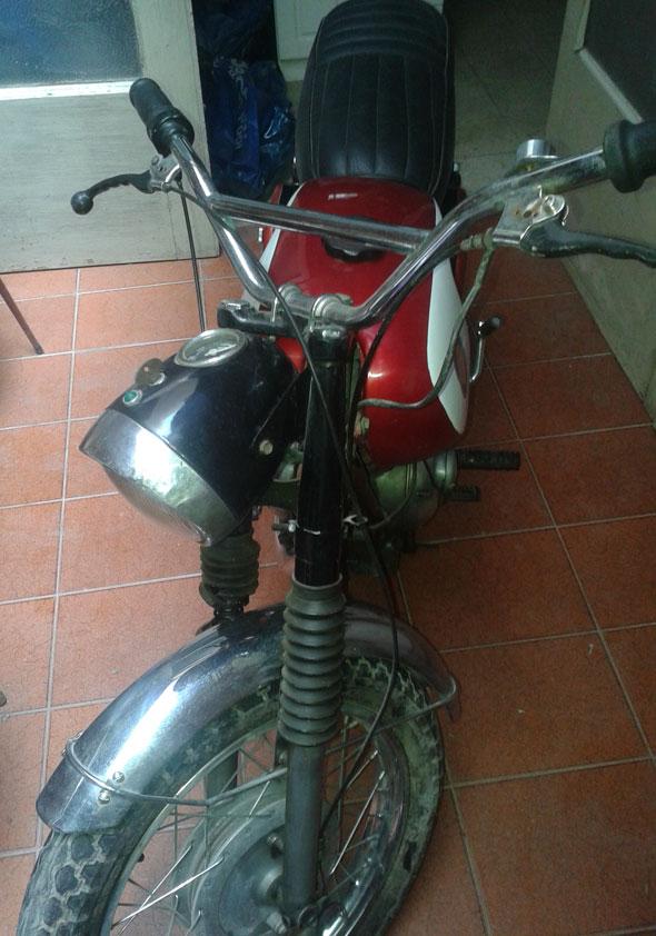 Motorcycle Gilera 1967