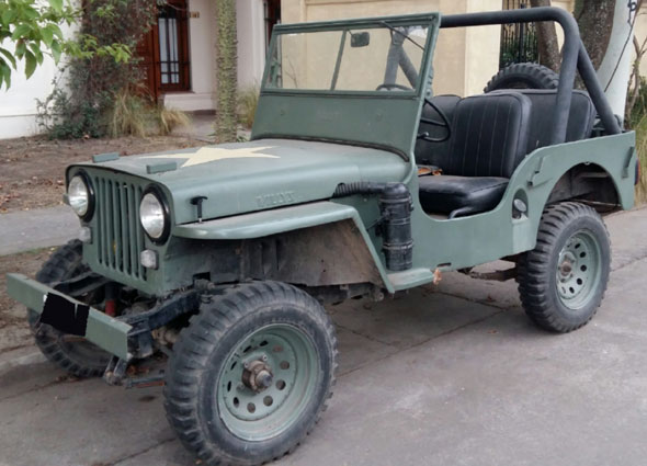 Auto Jeep Willys