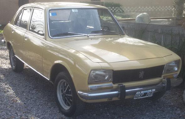 Car Peugeot 504 GLS 1980