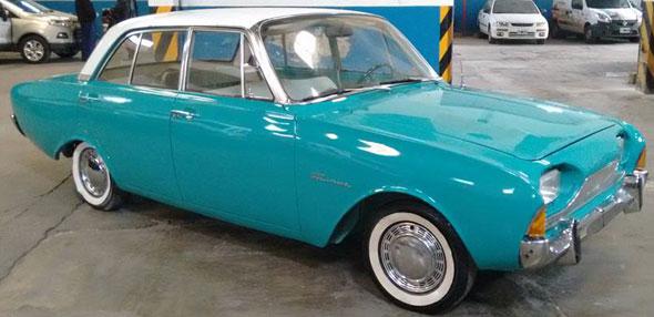 Car Ford Taunus 17M Super