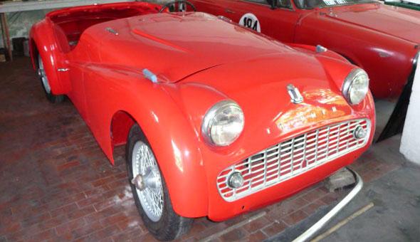 Car Triumph TR3