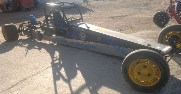 Auto Dragster 1990