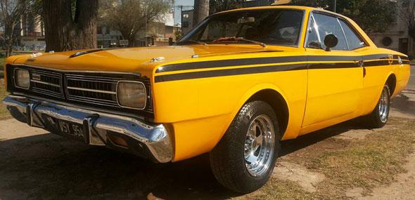 Car Dodge Polara R/T 1974