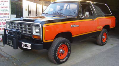 Car Dogde RAM AW 150
