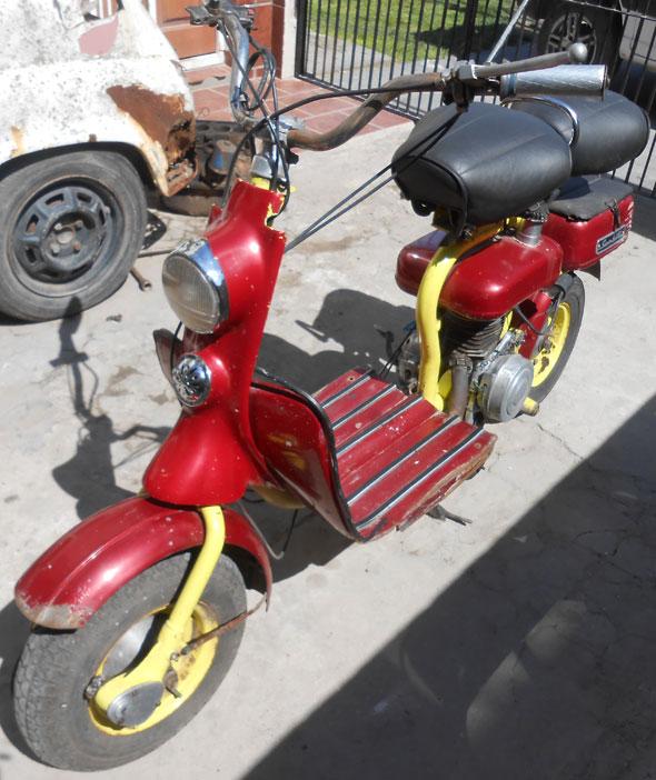 Motorcycle Siambretta 125 Standar