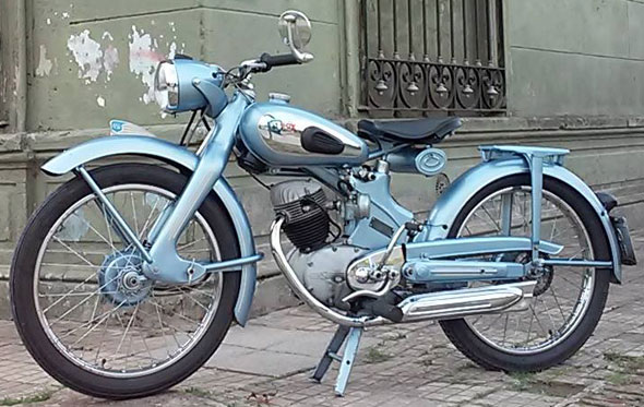 Motorcycle NSU Fox 1950