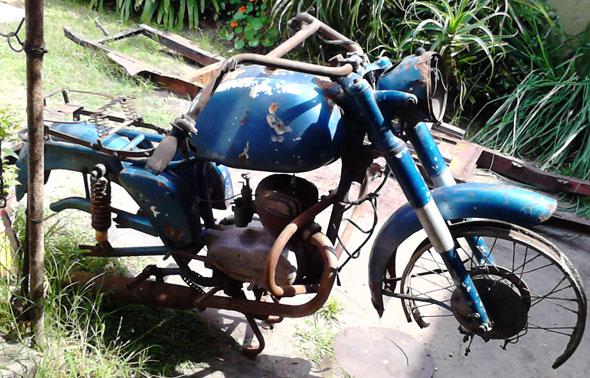 Motorcycle Sterzi 160