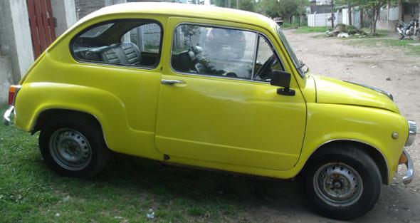 Car Fiat 600 1969
