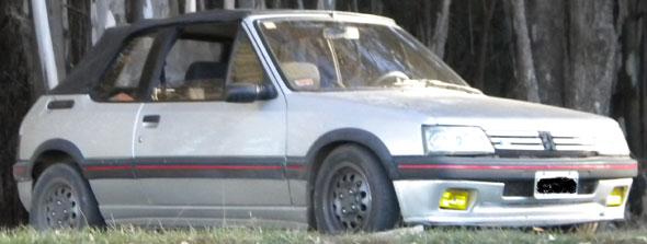 Car Peugeot 205 CTI 1,6 Pininfarina