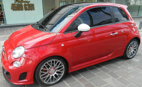 Car Fiat 500 Abarth