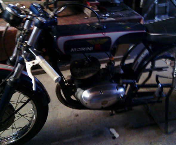Moto Morini Corsaro 1958