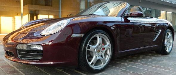 Auto Porsche Boxster
