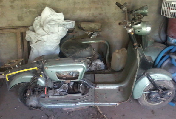 Moto Siambretta AV 175