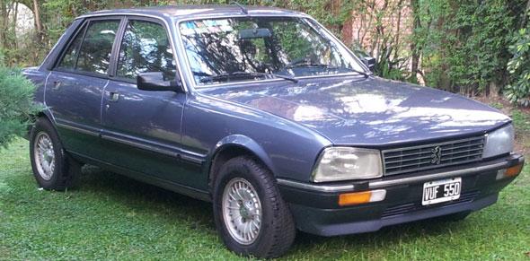 Car Peugeot 505 SR 1988