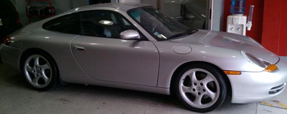 Car Porsche Carrera 996 1999