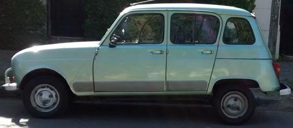 Car Renault 4 1984