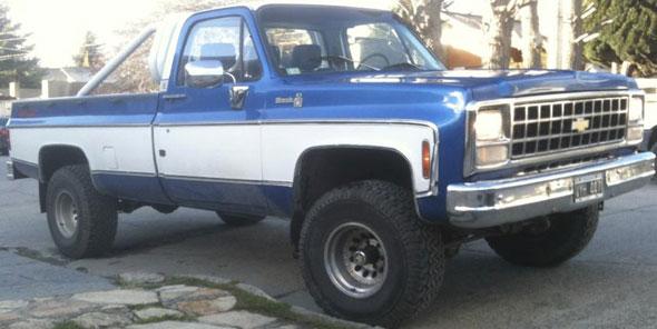 Car Chevrolet K10