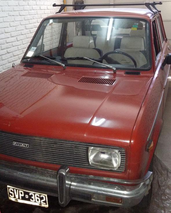 Auto Fiat 128 Europa 1981