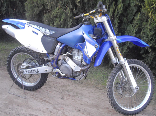 Auto Yamaha YZ426F 2000