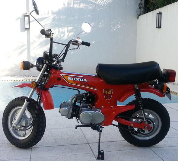 Moto Honda CT70 Mini Trail