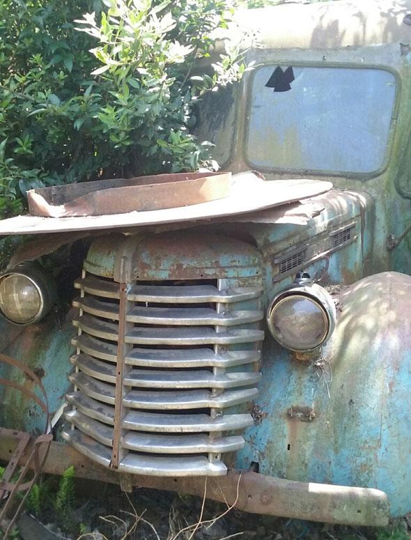 Car Diamond T 1947
