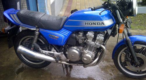 Motorcycle Honda CB 900 F Bol D�or