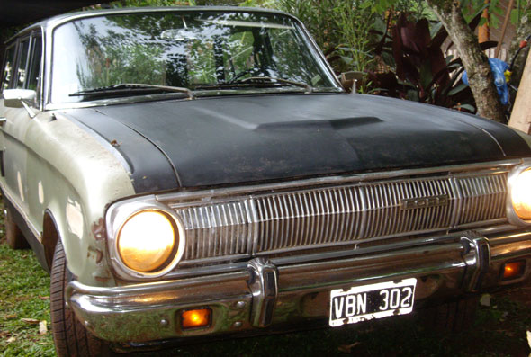 Auto Ford Falcon Rural 1972