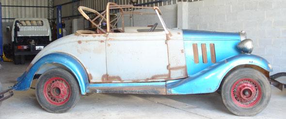 Car Chevrolet 1933
