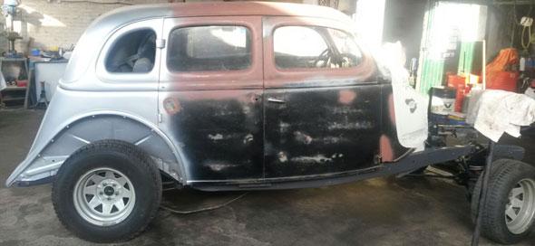 Auto Ford 1935 Cola De Pato