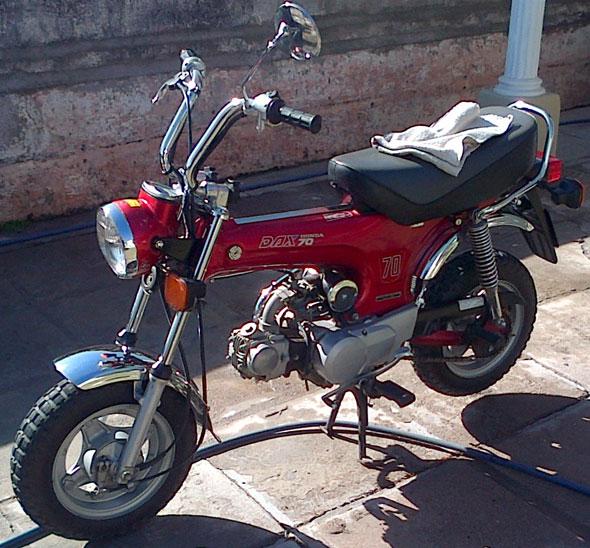 Car Honda Dax ST 70