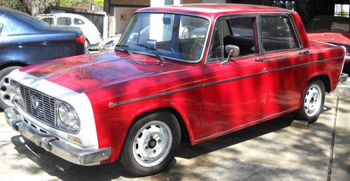 Car Lancia Fulvia