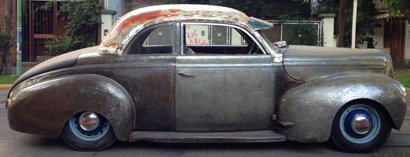 Auto Mercury Coupé V8